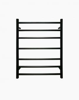 Seine Heated Towel Ladder Large Black
