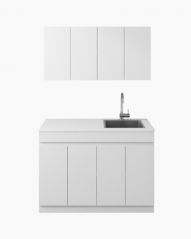 Avail Laundry Cabinet & Overhead Set 1200