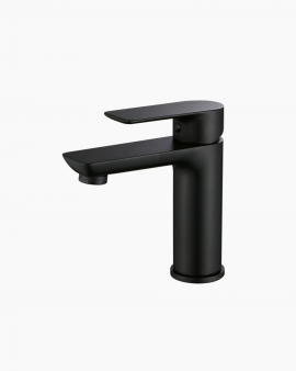 Lyndon Basin Mixer Tap Black
