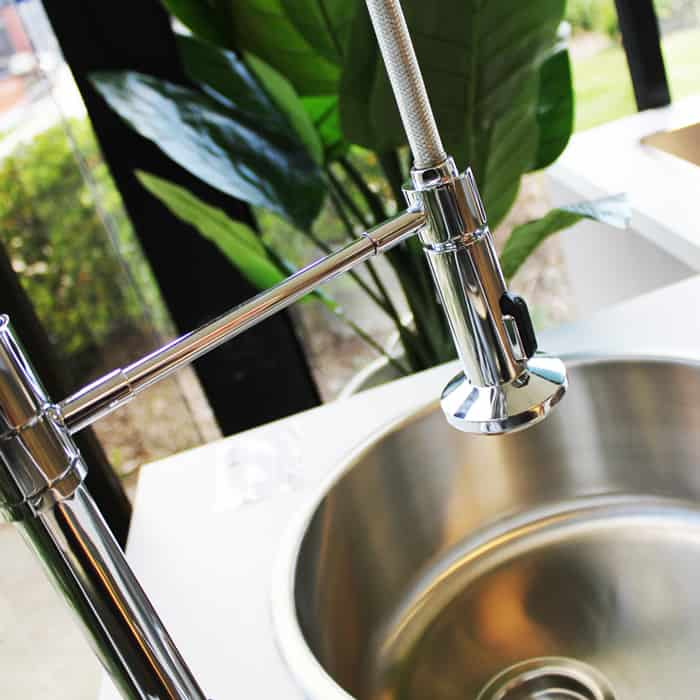 The Douglas Extended Mixer Tap and Chloe Sink